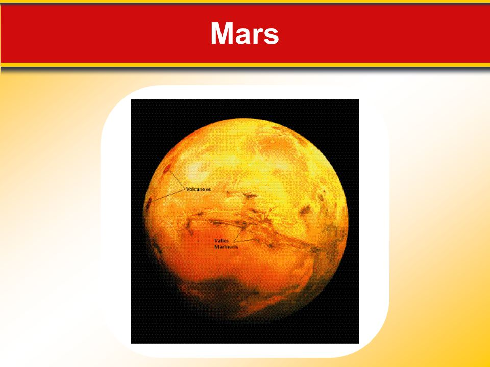 Mars Makes no sense without caption in book