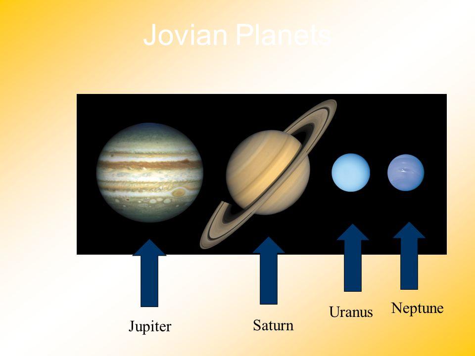 Jovian Planets Neptune Uranus Jupiter Saturn