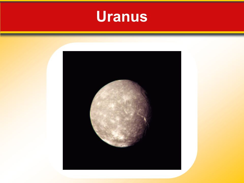 Uranus Makes no sense without caption in book
