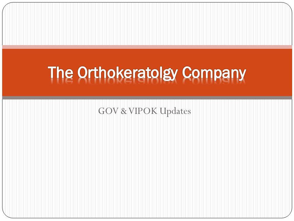 The Orthokeratolgy Company
