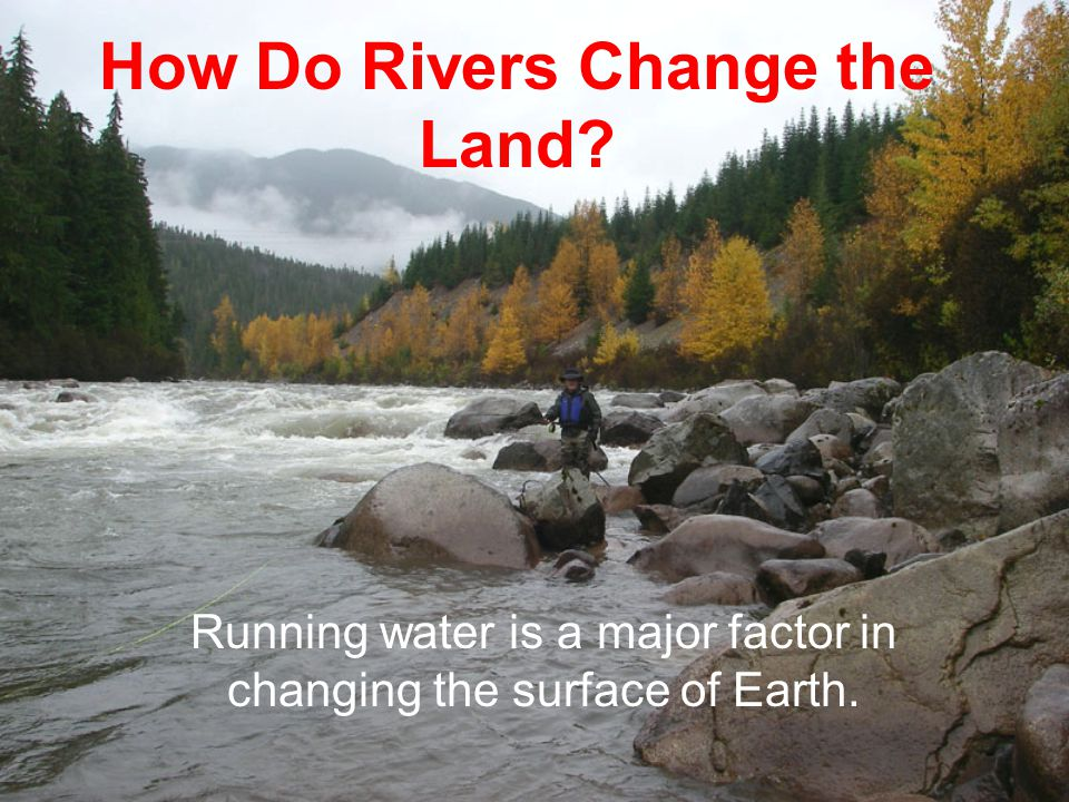 How Do Rivers Change the Land