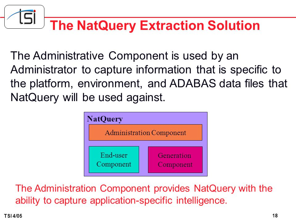 The NatQuery Extraction Solution