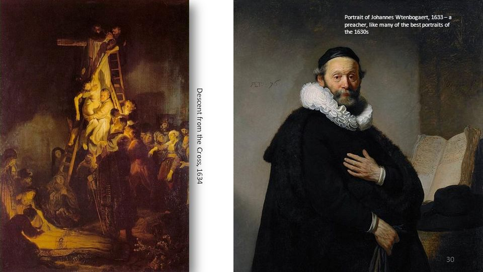 Portrait of Johannes Wtenbogaert, 1633 – a preacher, like many of the best portraits of the 1630s