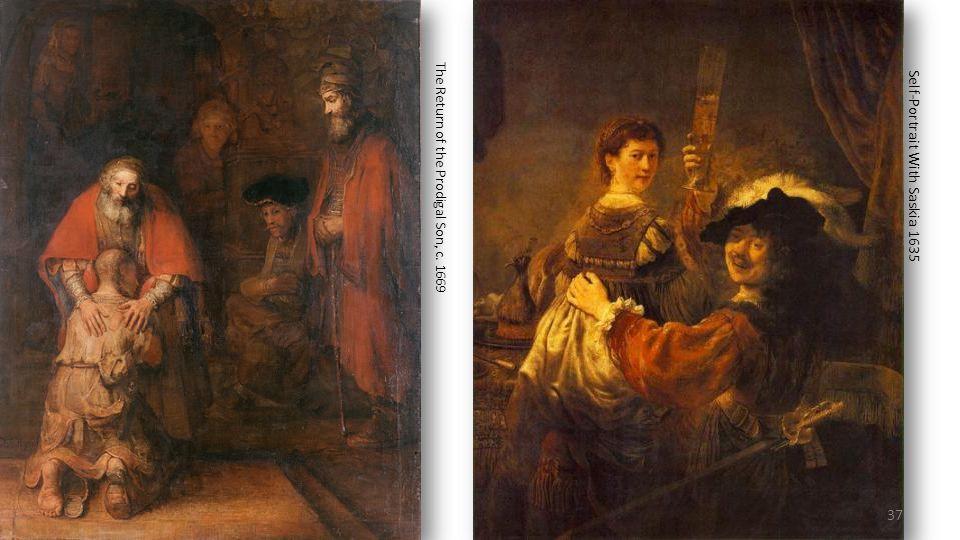 Self-Portrait With Saskia 1635