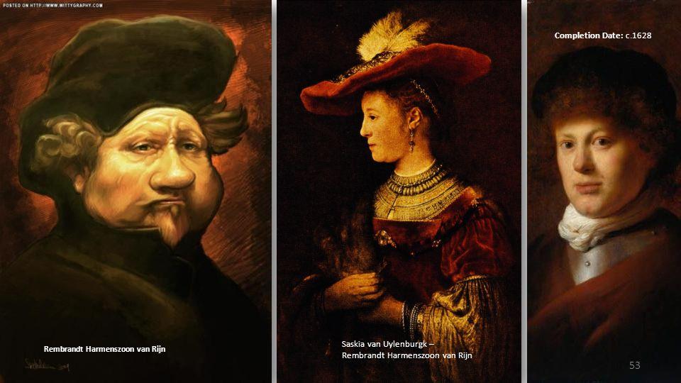 Saskia van Uylenburgk – Rembrandt Harmenszoon van Rijn