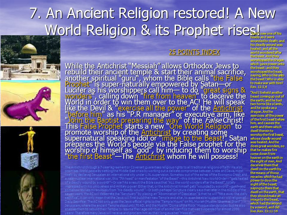 7. An Ancient Religion restored