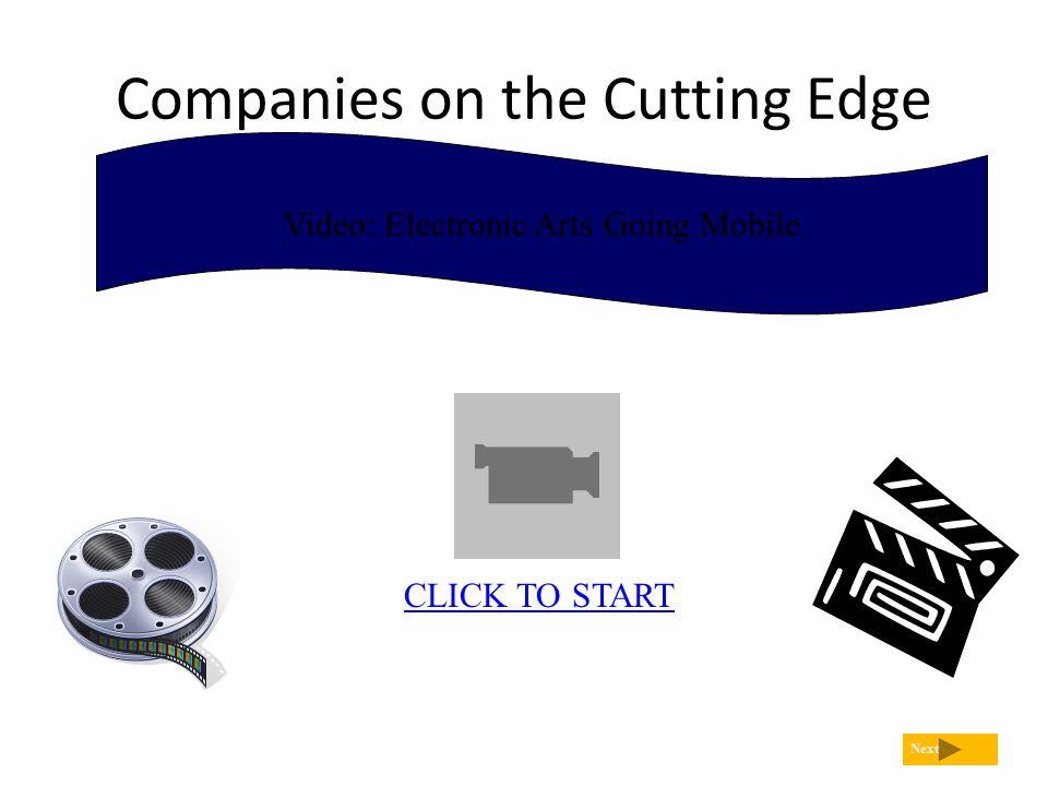 Companies on the Cutting Edge