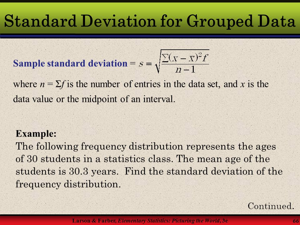 standard deviation in the business world Standard deviation the square root of the variance a measure of dispersion of a set of data from its mean historical volatility a measure of a security's stability over a.