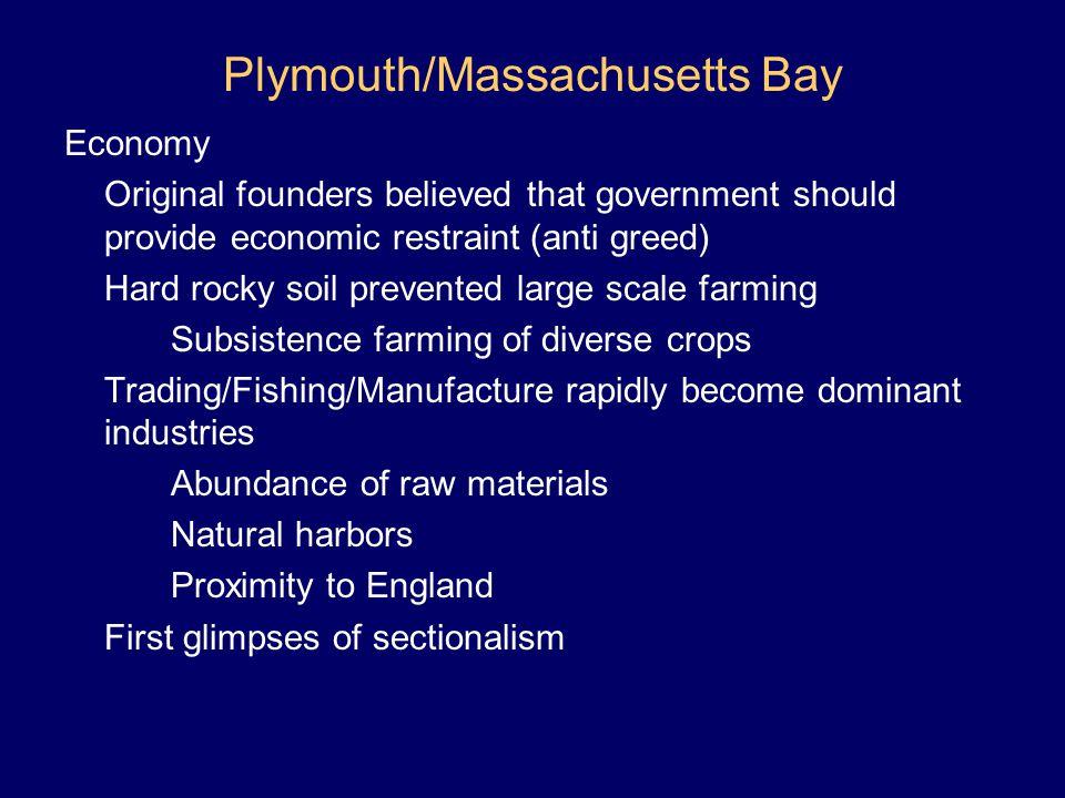 Plymouth/Massachusetts Bay