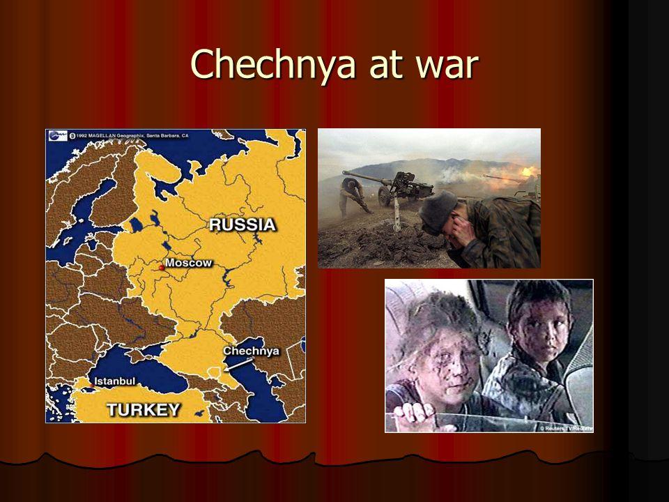 Chechnya at war