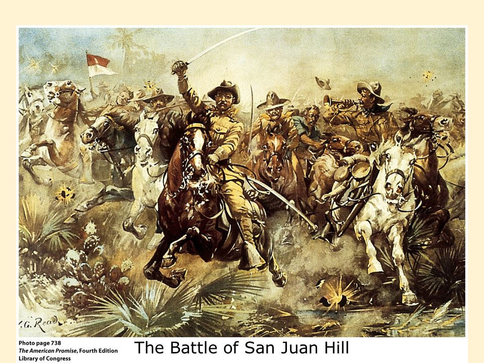 The Battle of San Juan Hill