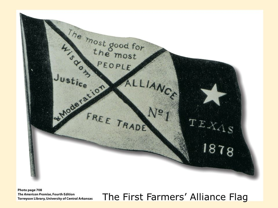 The First Farmers' Alliance Flag