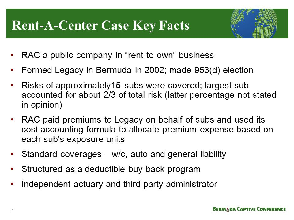 Rent-A-Center Case Key Facts
