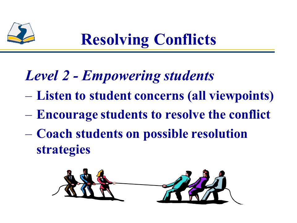 Resolving Conflicts Level 2 - Empowering students