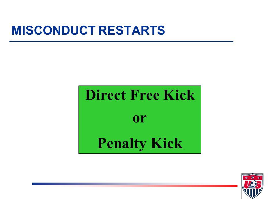 Direct Free Kick or Penalty Kick