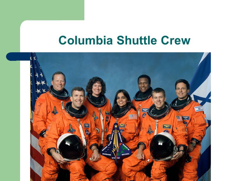 Columbia Shuttle Crew