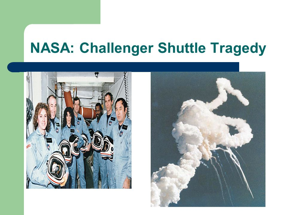 NASA: Challenger Shuttle Tragedy