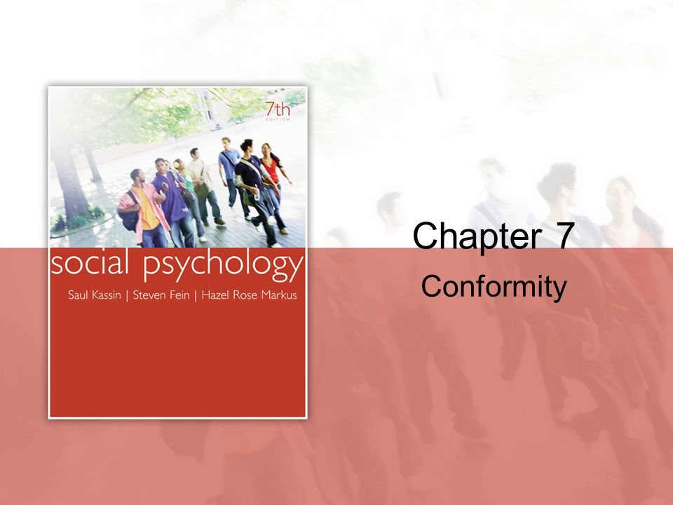 Chapter 7 Conformity