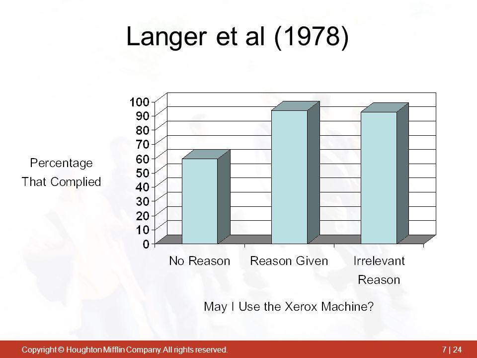 Langer et al (1978)