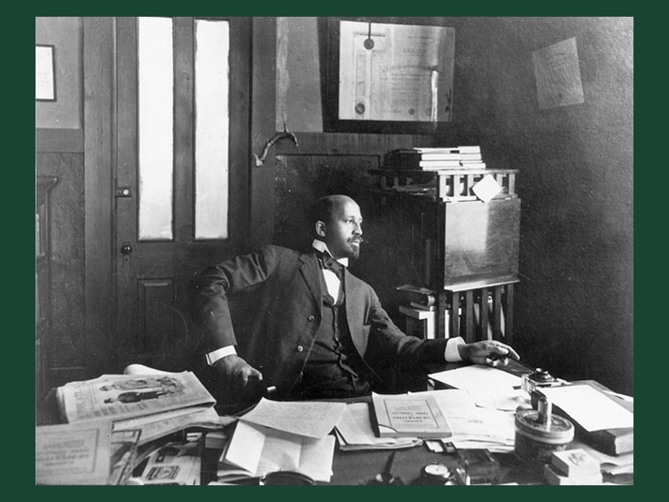 Ch. 19, Image 21 W. E. B. Du Bois, founder of the NAACP and editor of its magazine, The Crisis, in his New York office.