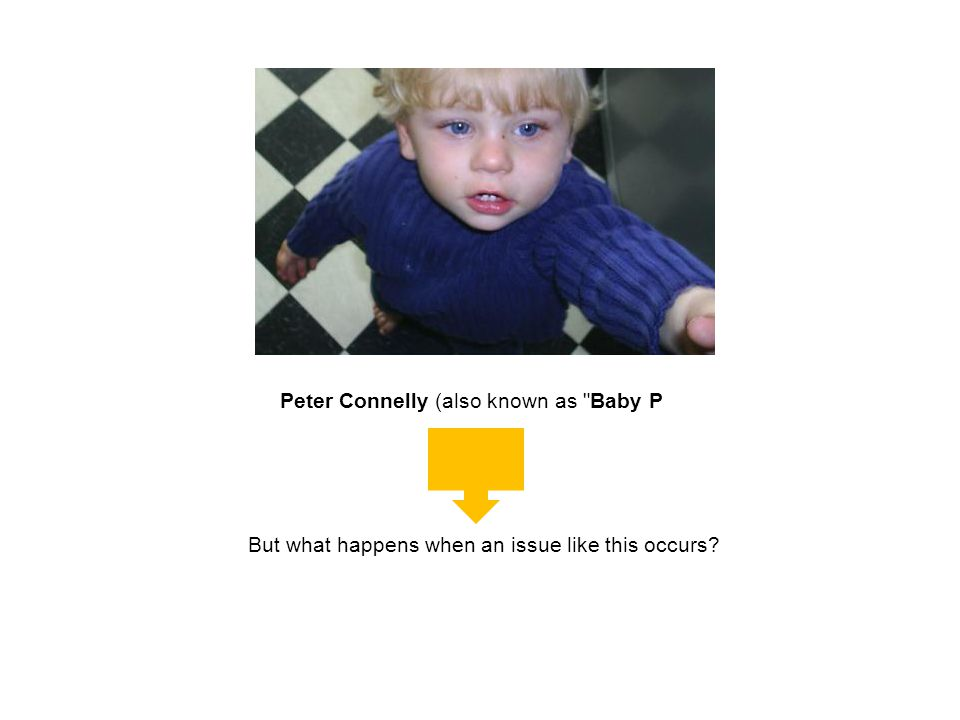 Peter Connelly (also known as Baby P
