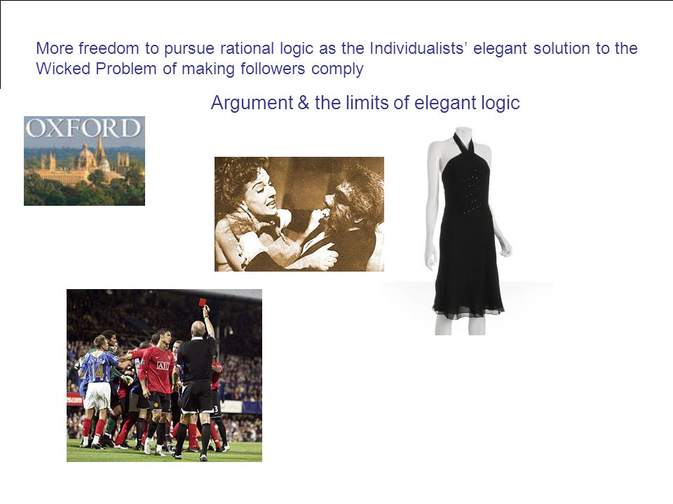 Argument & the limits of elegant logic