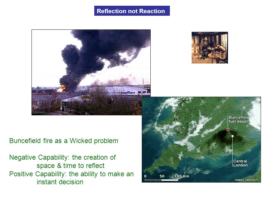 Buncefield fire as a Wicked problem
