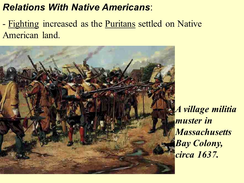 Relations With Native Americans: