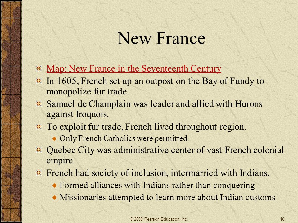 New France Map: New France in the Seventeenth Century