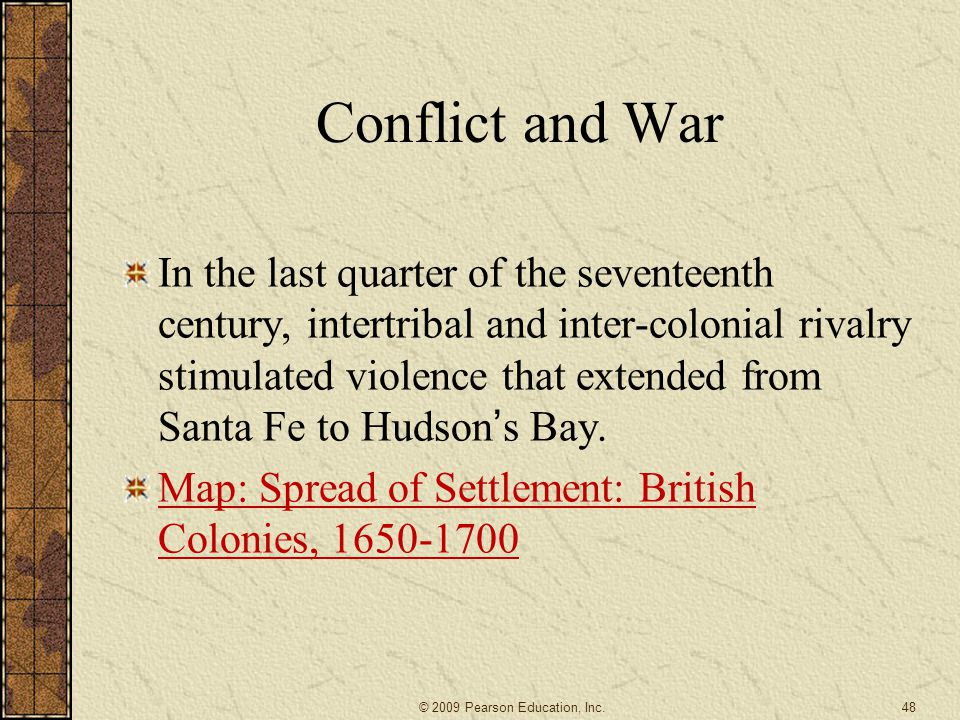 Conflict and War