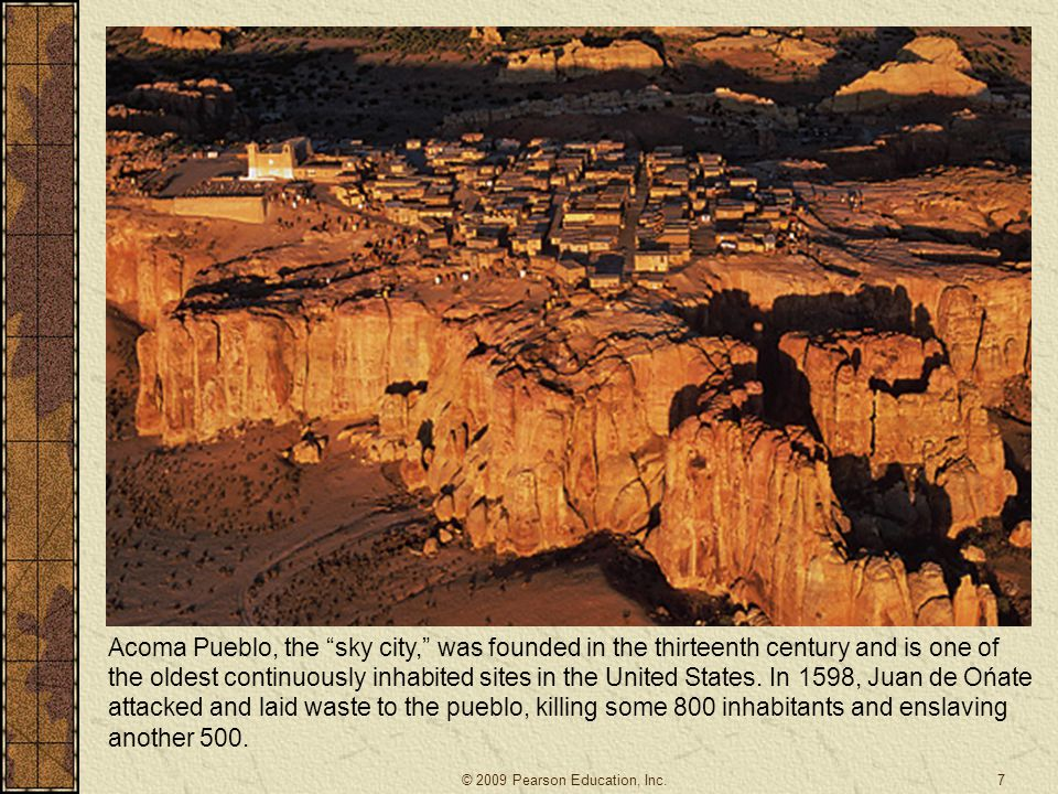 Acoma Pueblo, the sky city, was founded in the thirteenth century and is one of