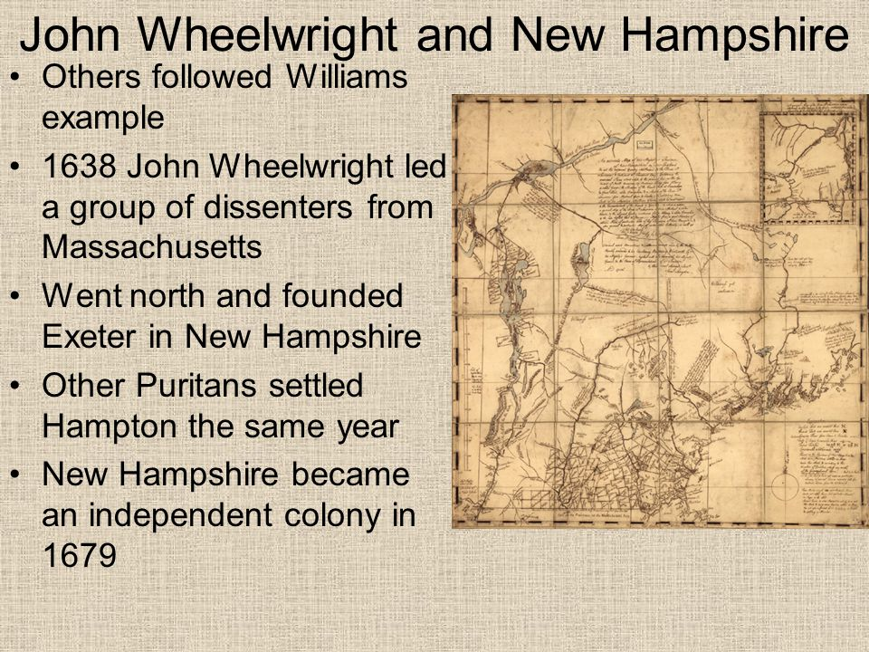 John Wheelwright and New Hampshire