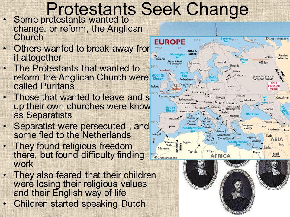 Protestants Seek Change