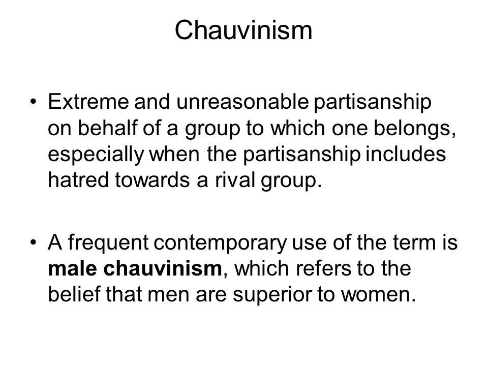Chauvinism