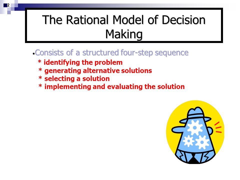 The Rational Model of Decision Making