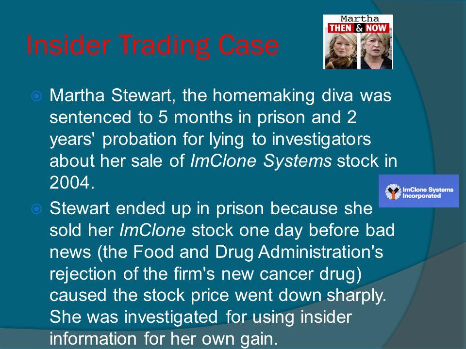 Insider Trading Case