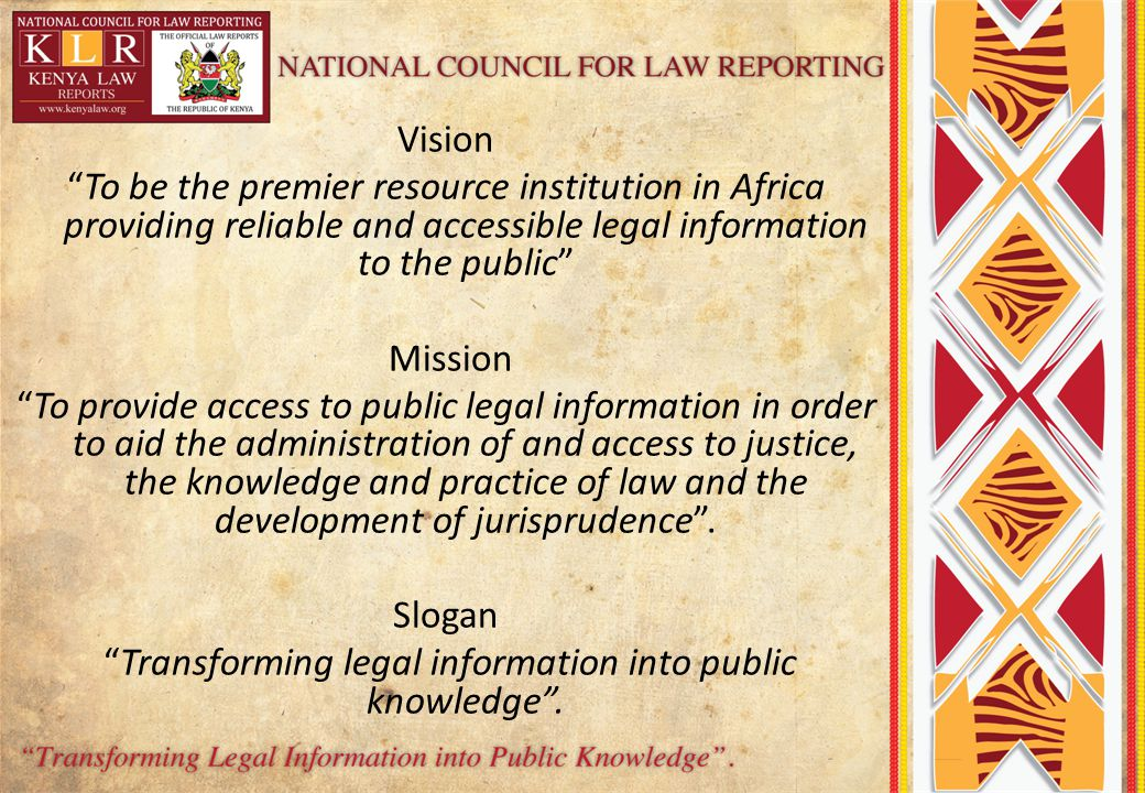 Transforming legal information into public knowledge .