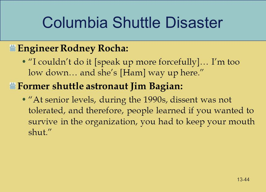 Columbia Shuttle Disaster