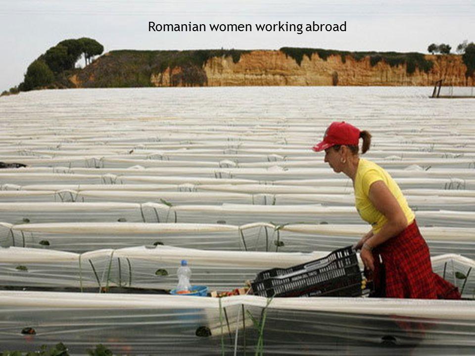 Romanian women working abroad