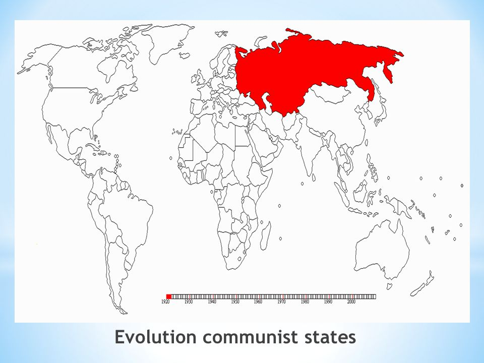 Evolution communist states