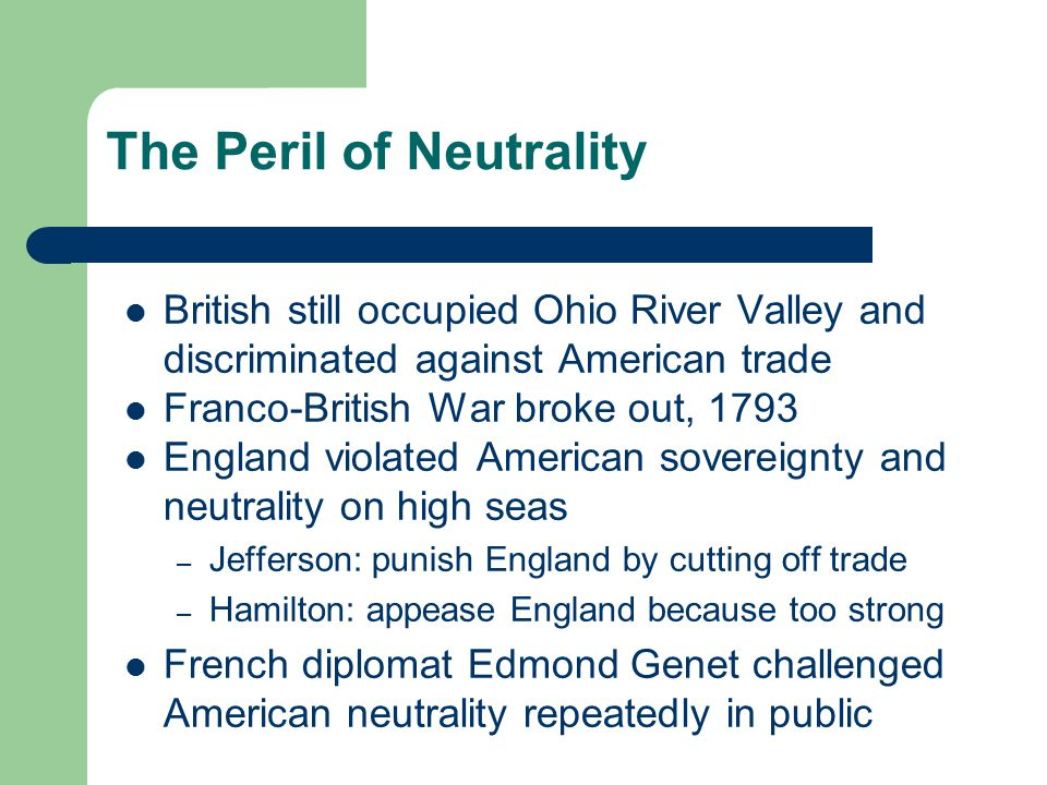 The Peril of Neutrality