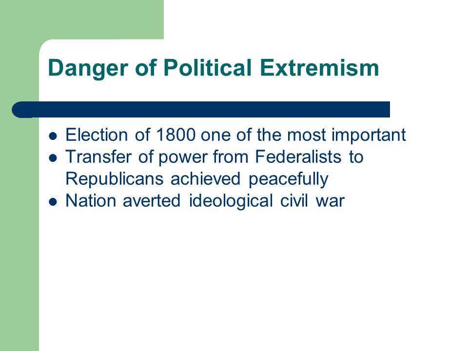 Danger of Political Extremism