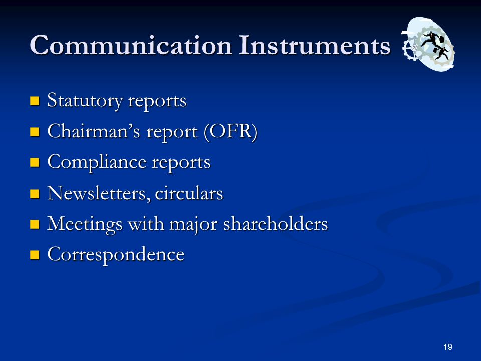 Communication Instruments