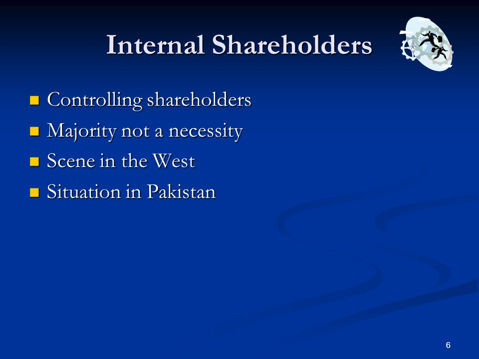 Internal Shareholders