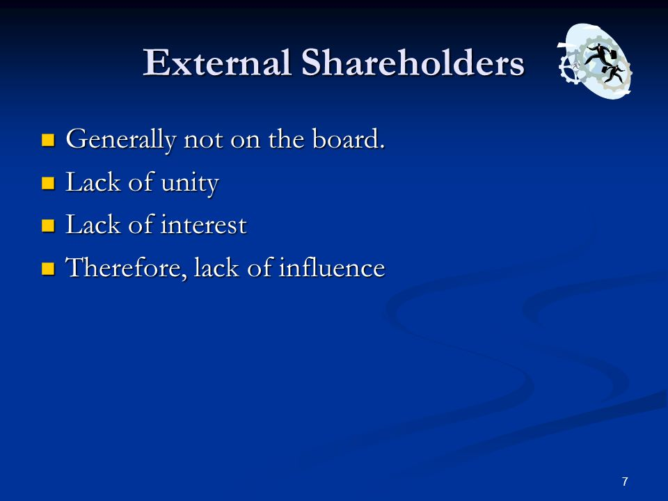 External Shareholders