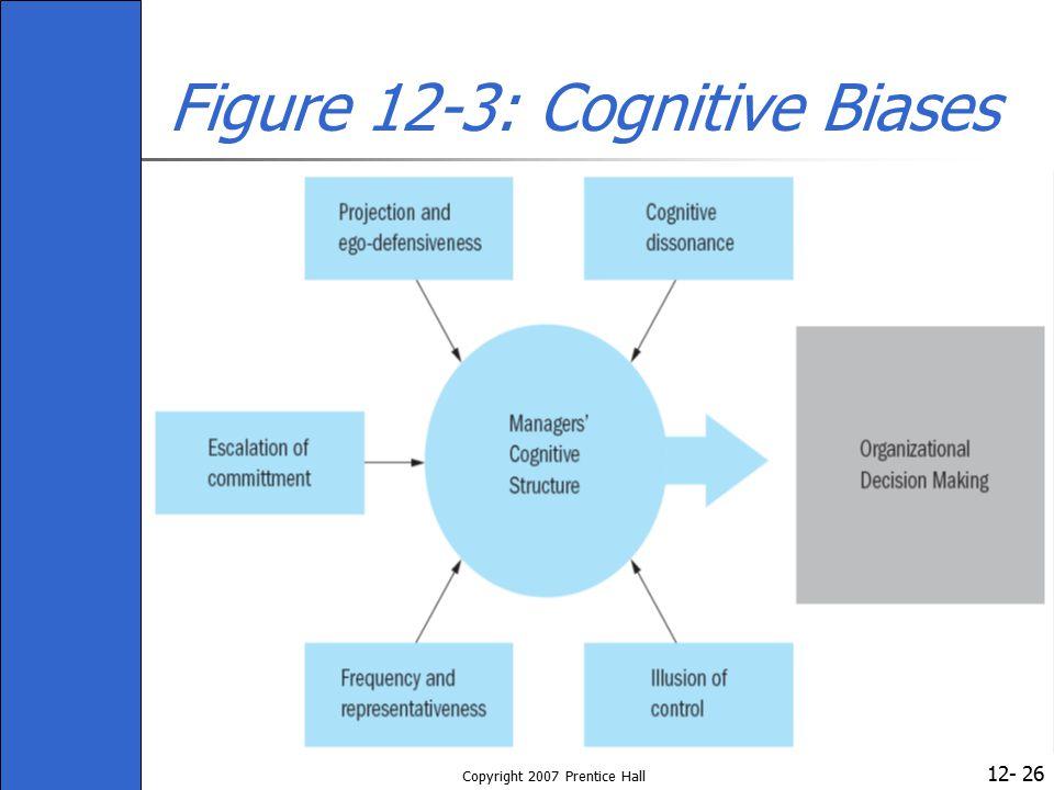 Figure 12-3: Cognitive Biases