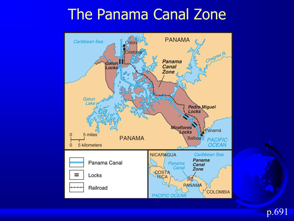 The Panama Canal Zone p.691