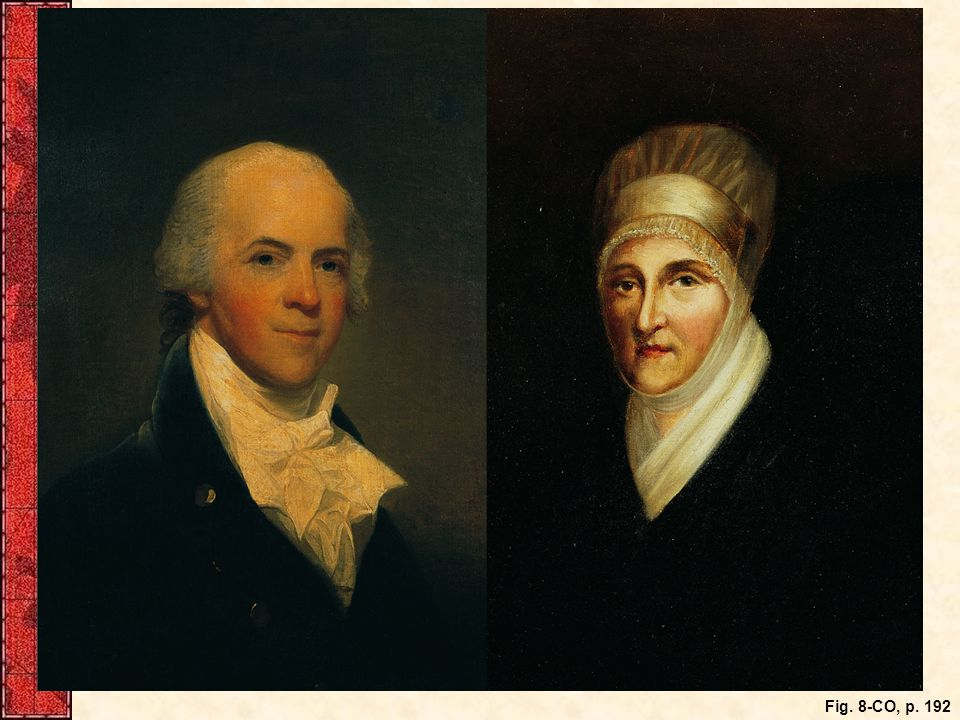 George and Deborah Logan, whose activities caused so much political controversy in 1798. Their elegant house, Stenton, where Jefferson visited her in her husband's absence, is still preserved as a historic site.