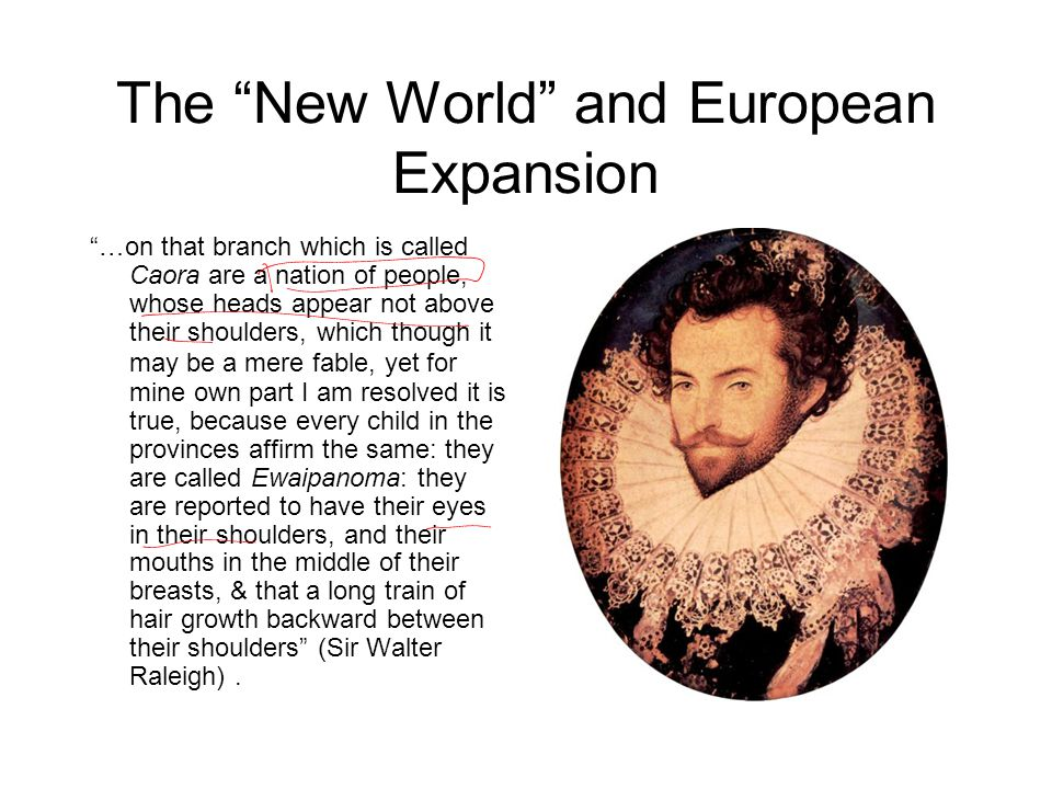 The New World and European Expansion