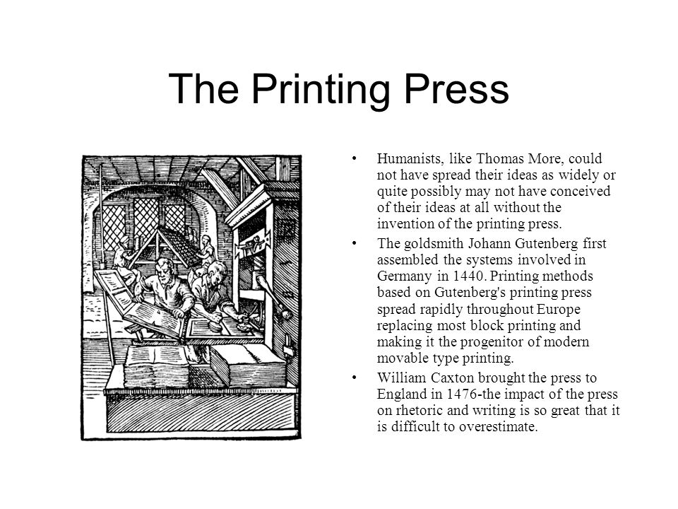 The Printing Press